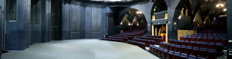 Interior del teatro La Abadía