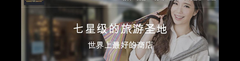 Web Promocional (versión en Chino)