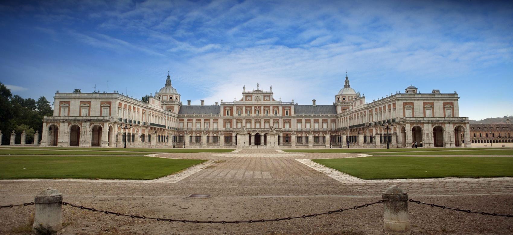Fachada principal Palacio Real de Aranjuez