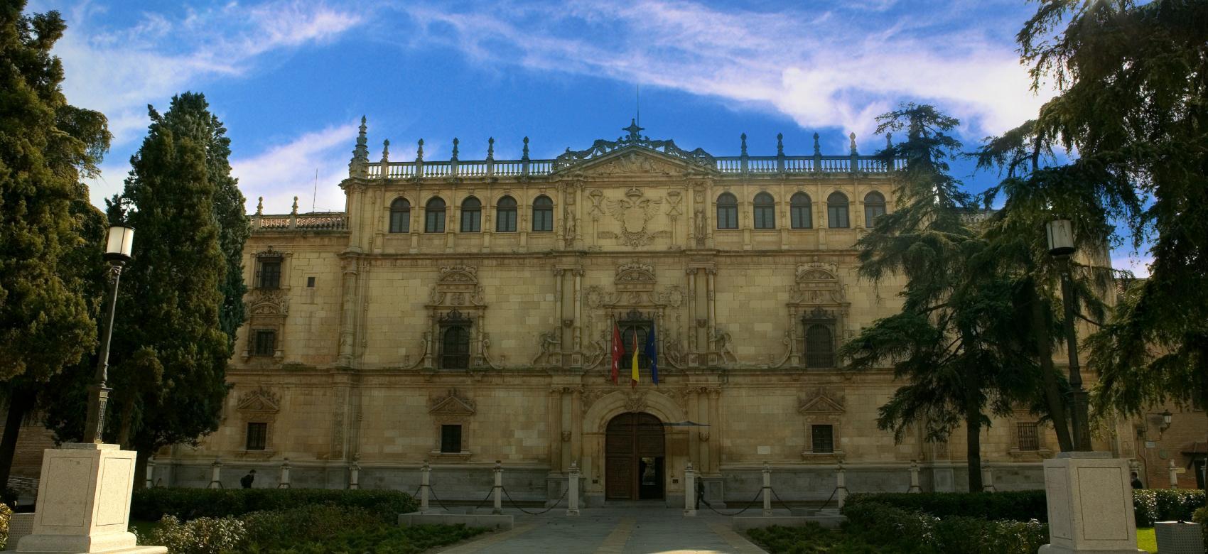 Fachada Universidad de Alcalá de Henares
