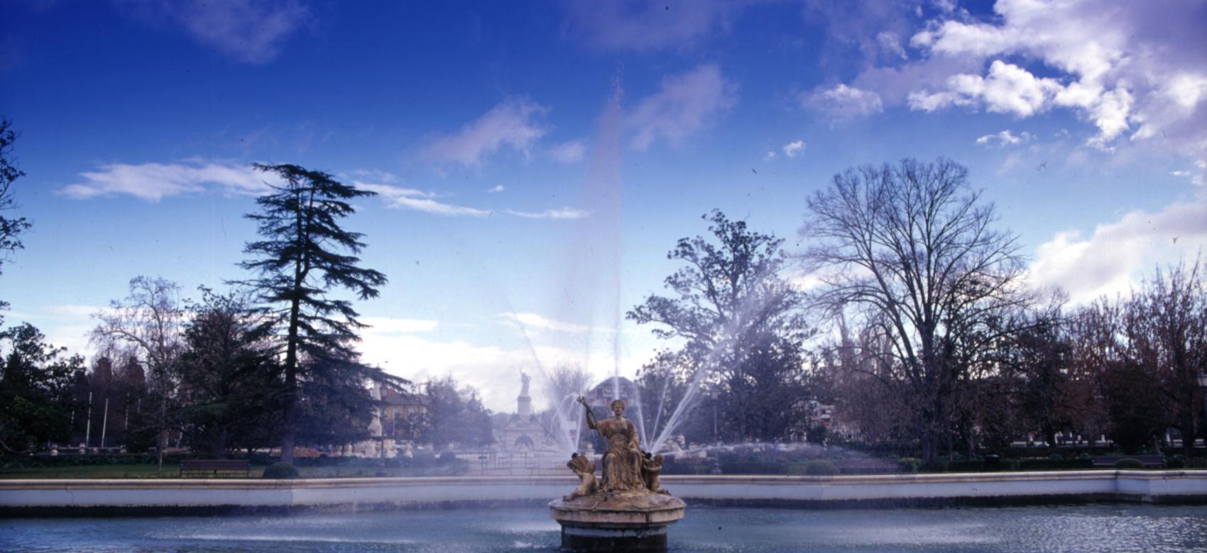 Jardines de Aranjuez. Fuente de Ceres