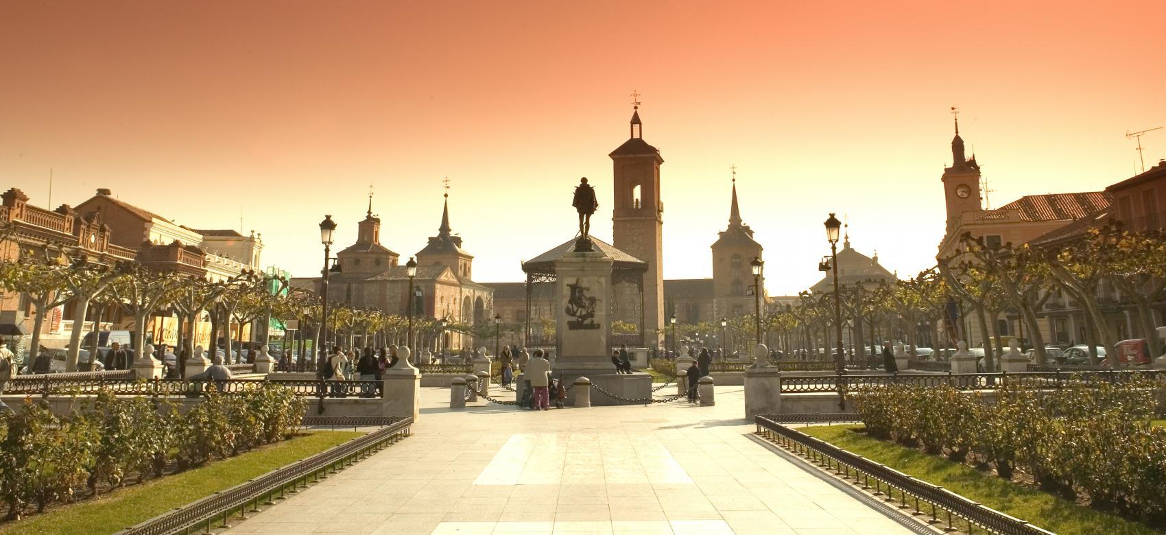 Plaza de Cervantes de Alcalá