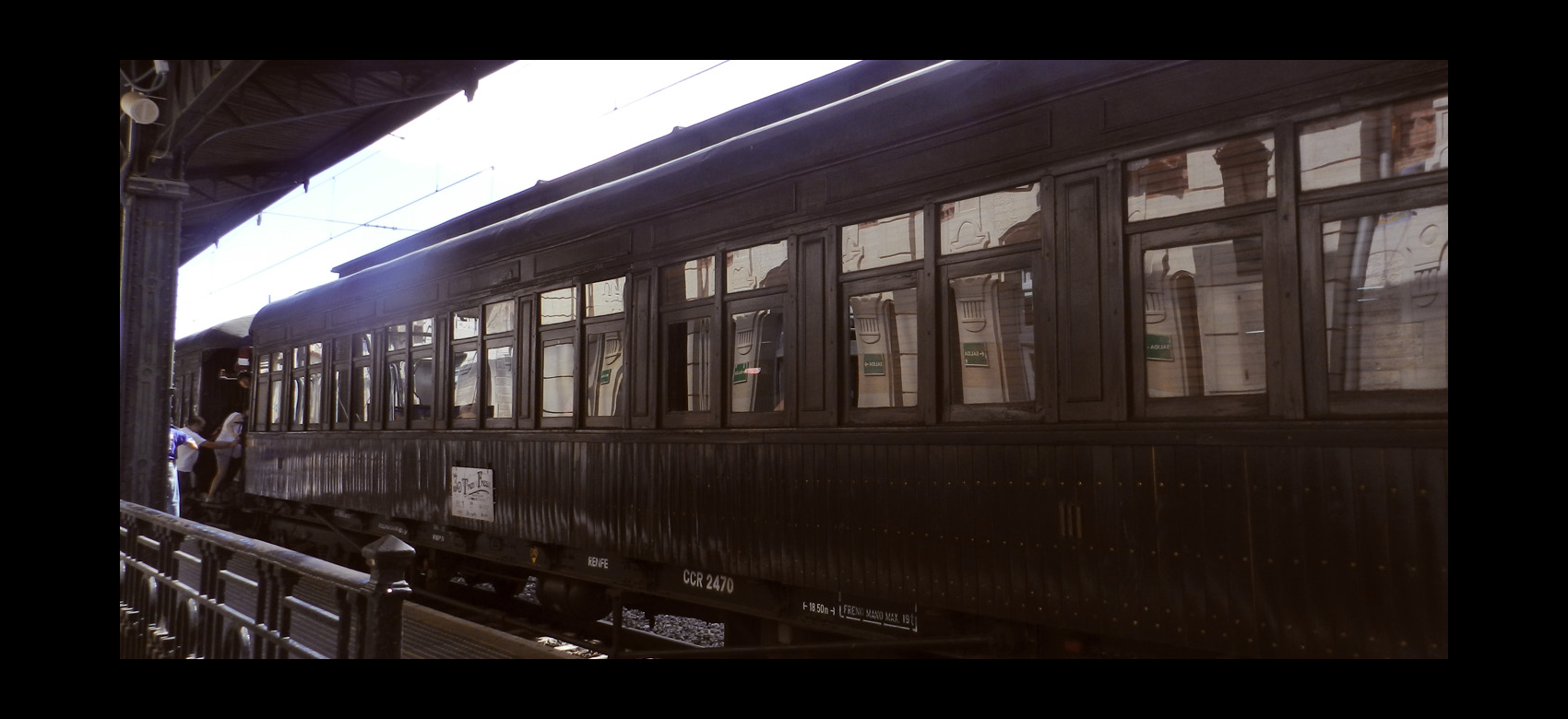 Tren de la Fresa.Madrid-Aranjuez