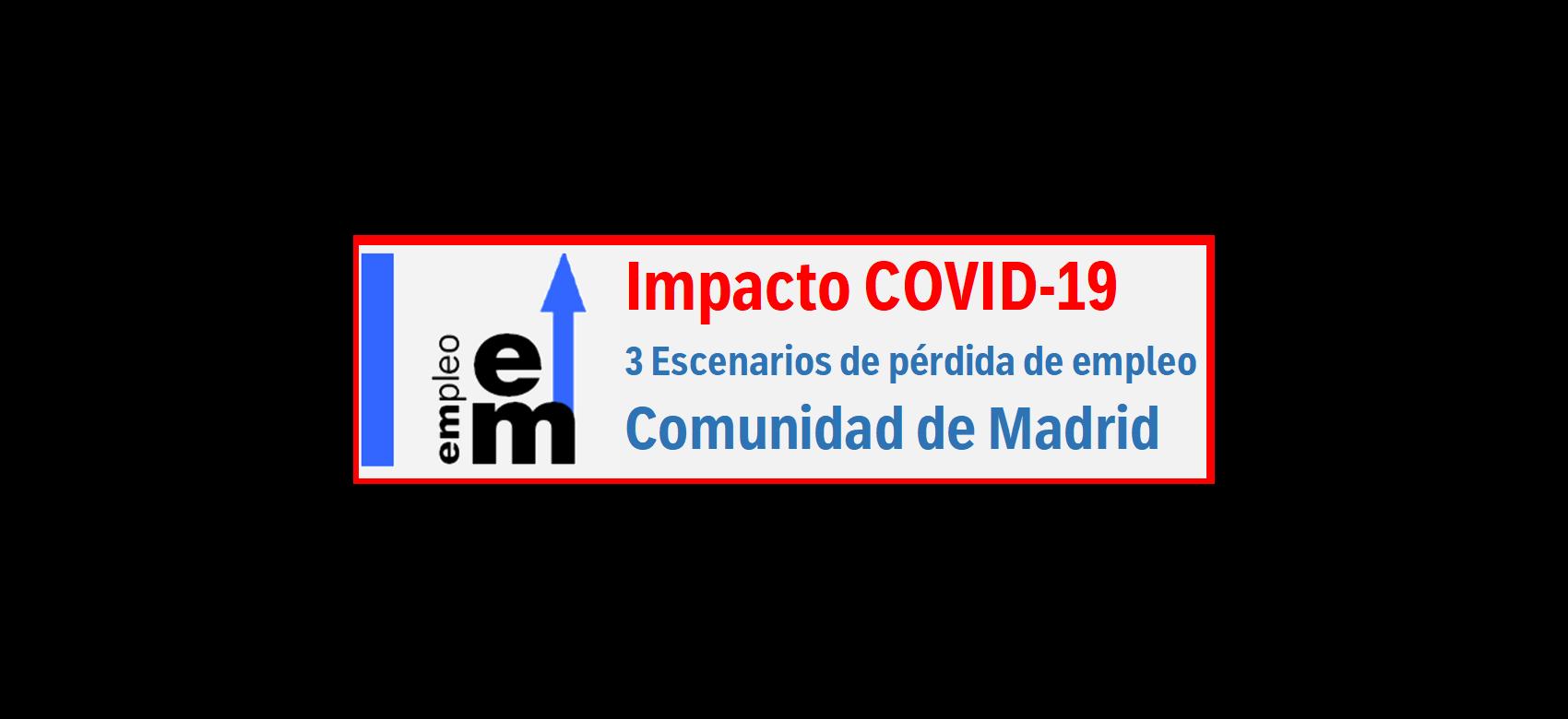 Texto Impacto COVID-19 Tres escenarios de pérdida de empleo