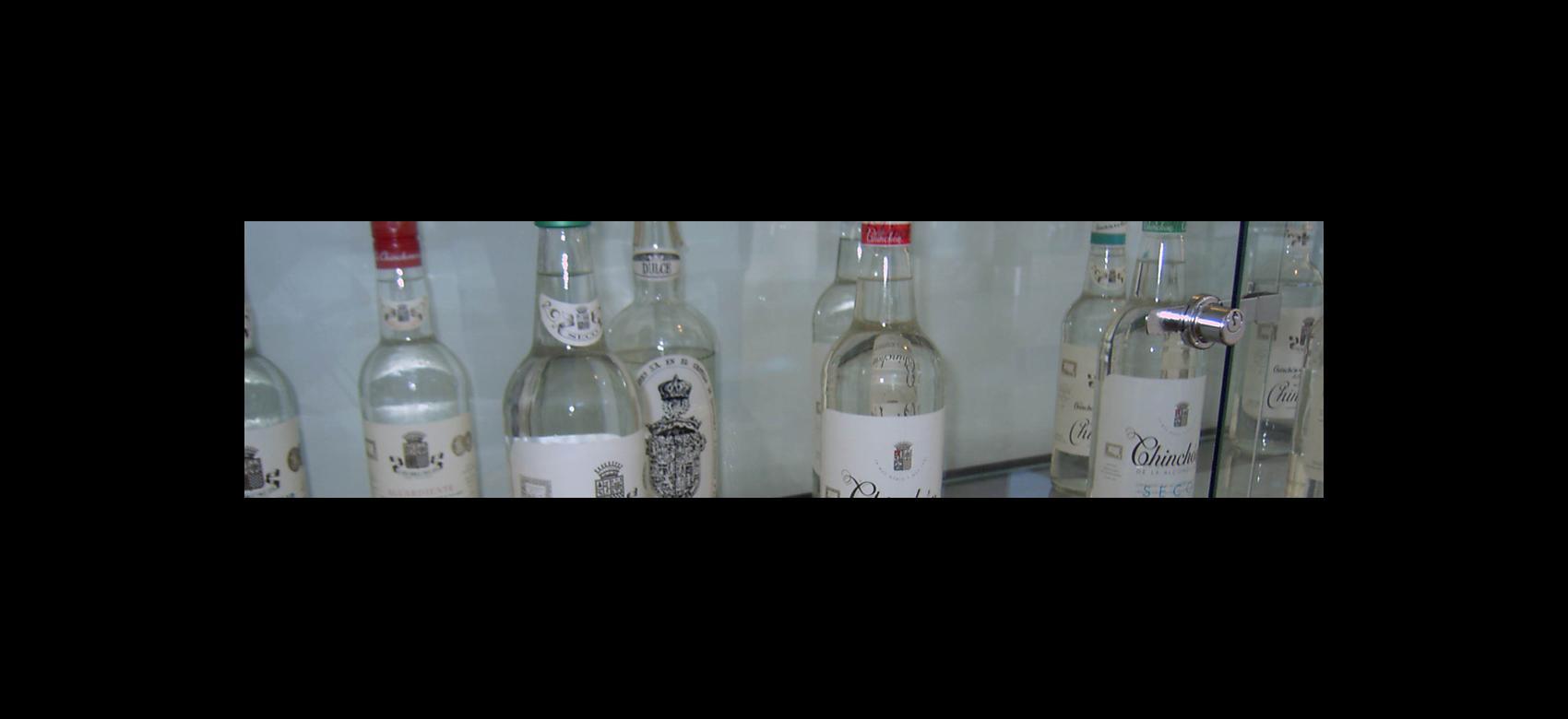 Imagen de botellas de anís de Chinchón
