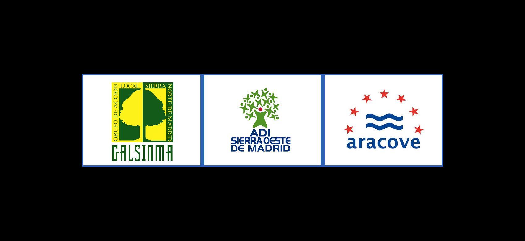 Logos Grupos de Acción Local (GAL) de la Comunidad de Madrid