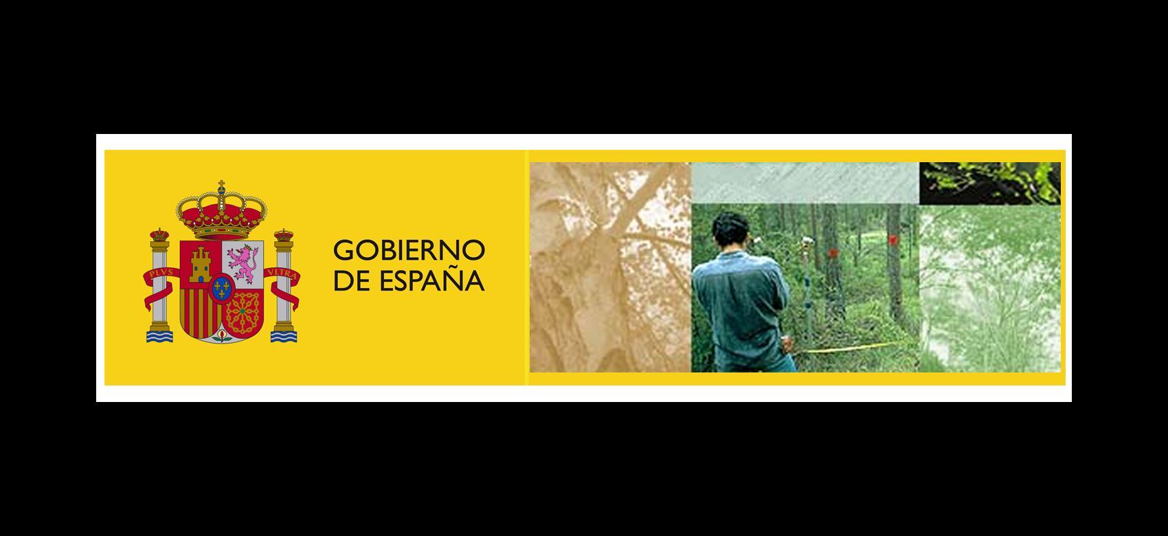 Logo Ministerio. Inventario Forestal