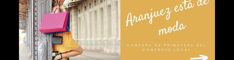 Campaña promocional del comercio de Aranjuez