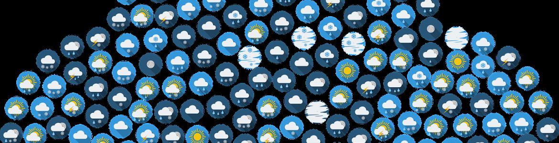 Iconos meteorología