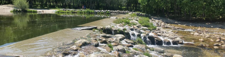 Imagen de la zona de baño de Las Presillas (Rascafría)