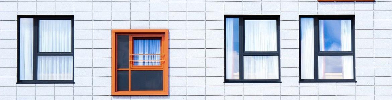 Ventanas de una fachada edificio