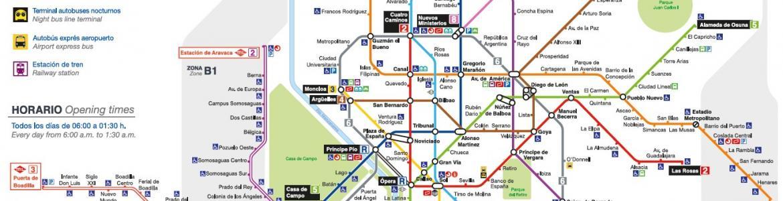 Plano de Metro