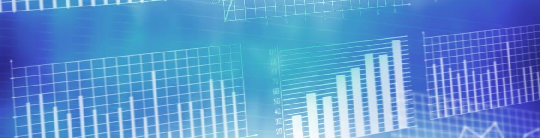 fondo claro con graficos de barras azules