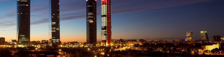Imagen panorámica de Madrid