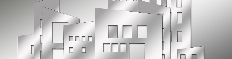 Edificios grises