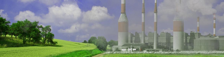 Industria emitiendo