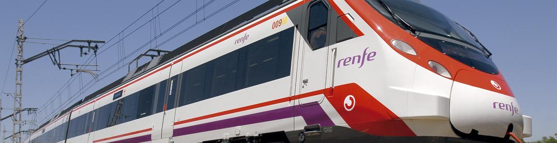 Tren modelo CIVIA de Cercanías