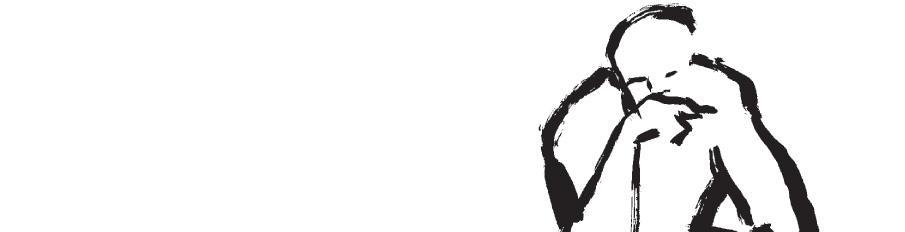 logotipo de la Semana de la ciencia de Madrid en rojo y negro con la silueta de una persona pensando