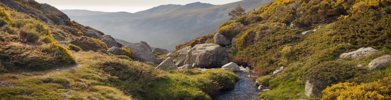 Paisaje del Parque Nacional de la Sierra de Guadarrama