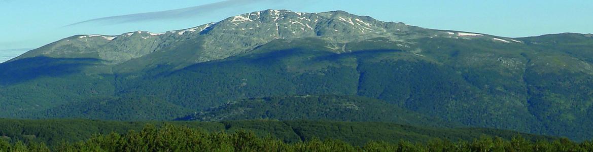 Parque Nacional Sierra Guadarrama. Vista de Peñalara y La Morcuera