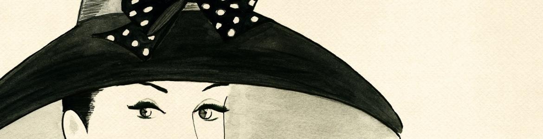 Diseño de sombrero femenino
