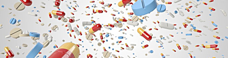 lluvia de pastillas