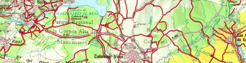 Foto parcial de Plano de Vías Pecuarias