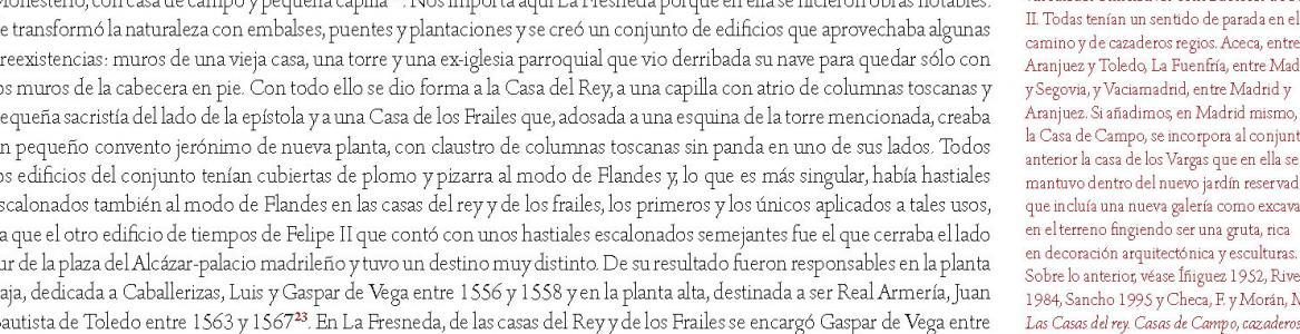 Página del libro Palacio de Madrid