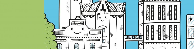 Taller-recorrido urbano Miguitas… Tocar la arquitectura