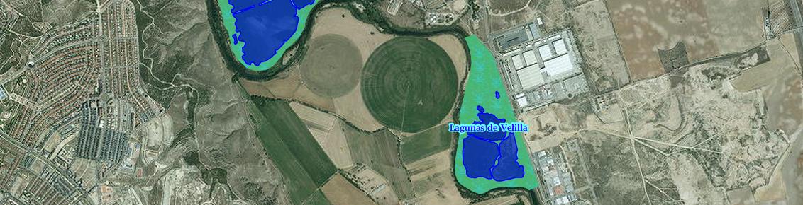 Consulta de los embalses y humedales en el Visor de cartografía ambiental