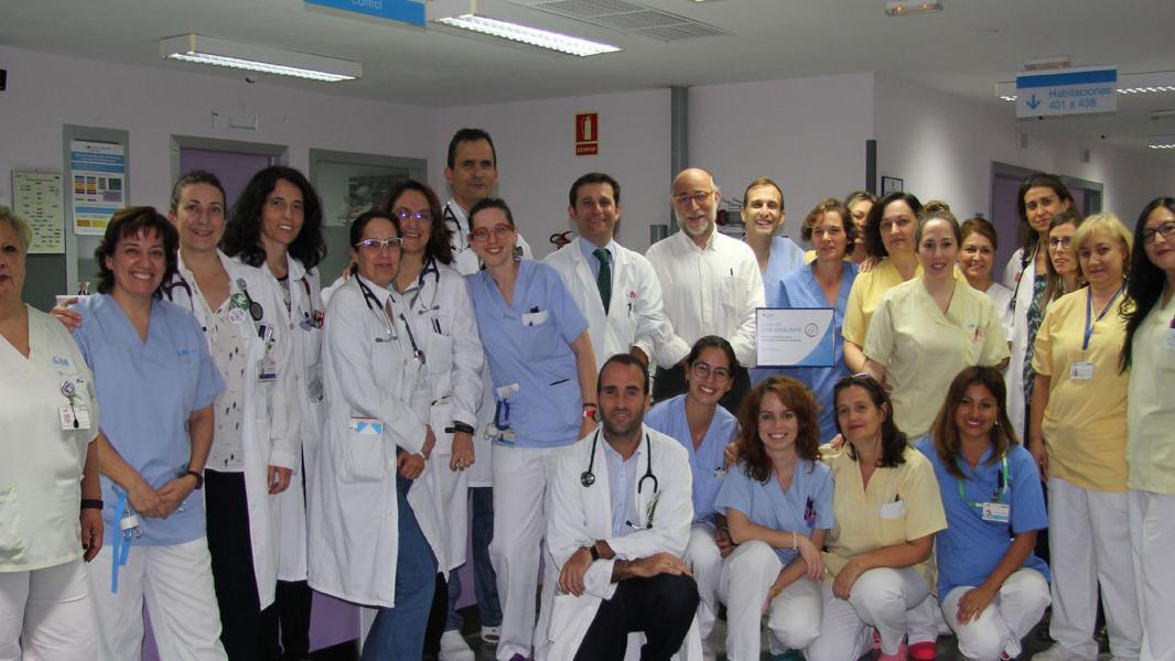 Miembros del equipo de Medicina Interna