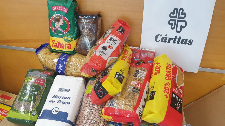 Iniciativa solidaria de recogida de alimentos promovida por facultativos de Medicina Interna del Hospital Severo Ochoa