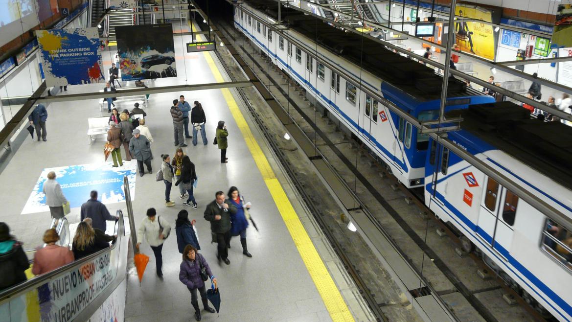 Estación de Moncloa de Metro de Madrid