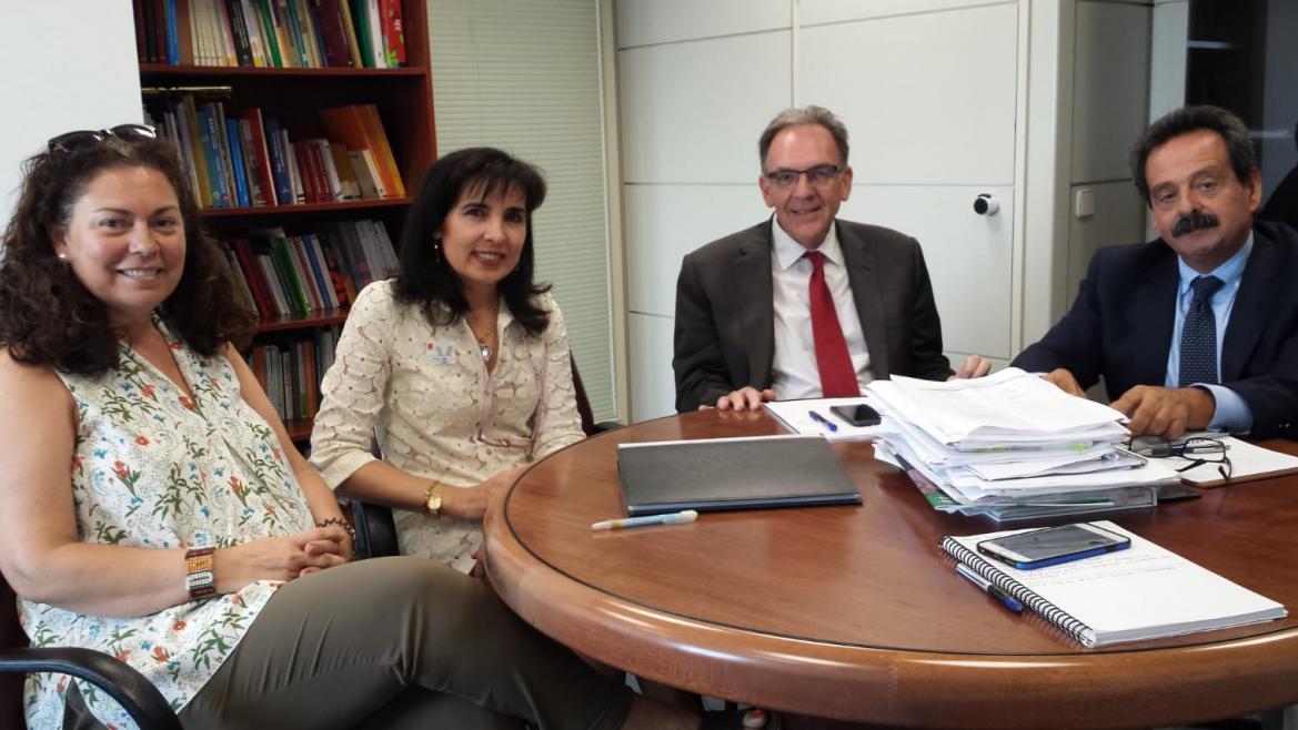 Blanca Alonso la segunda por la izquierda