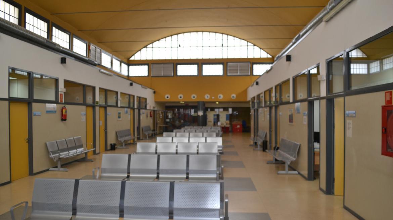 Sala de espera del Centro de Salud Lavapiés