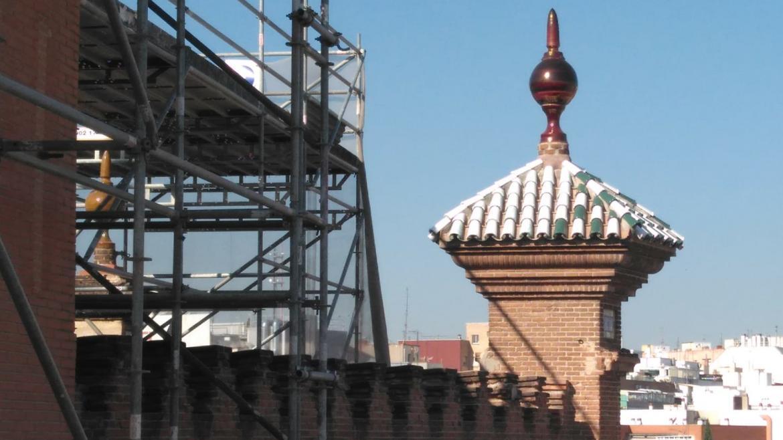 Renovación de las cubiertas de Las Ventas