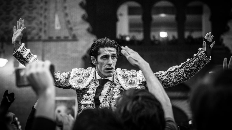 Alejandro Talavante retratado por Sara de la Fuente