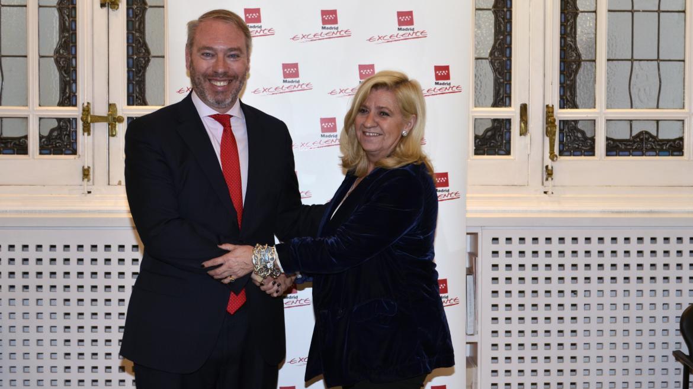 Firma convenio Banco Santander Madrid Excelente