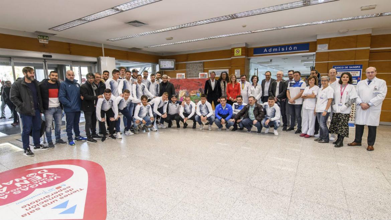 Hospital Severo Ochoa | Maratón 'Sangre de Lux' con la participación del Club Deportivo Leganés y otras entidades colaboradoras
