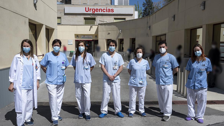 enfermeras del hospital gregorio marañón