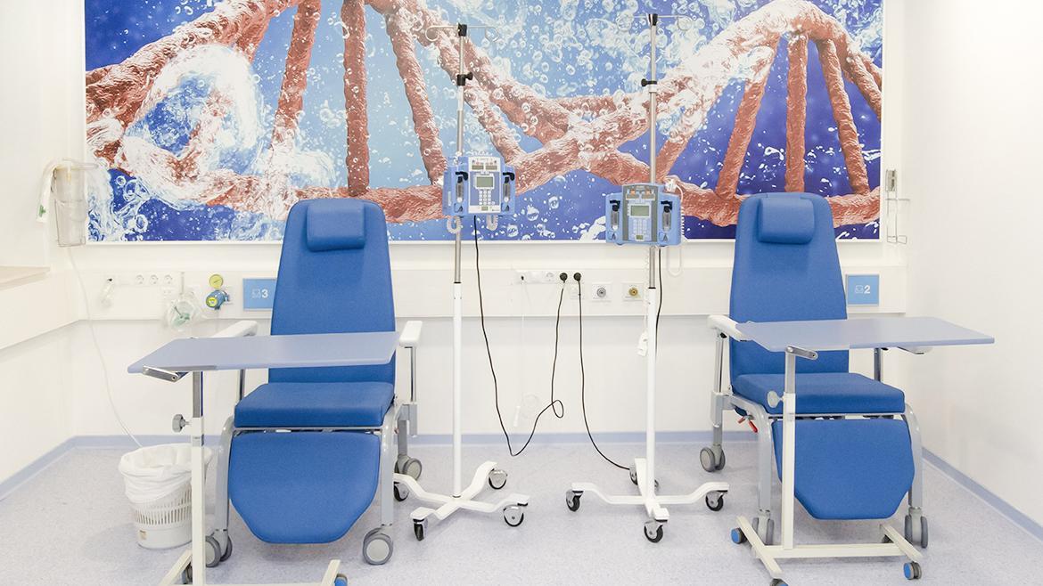 sala del CEIMI del hospital gregorio marañon