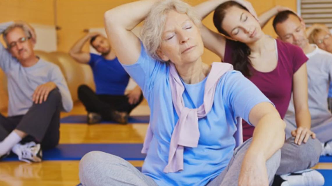 Actividad física de personas mayores