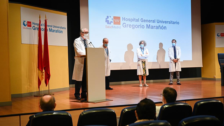 aula magna hospital gregorio marañón