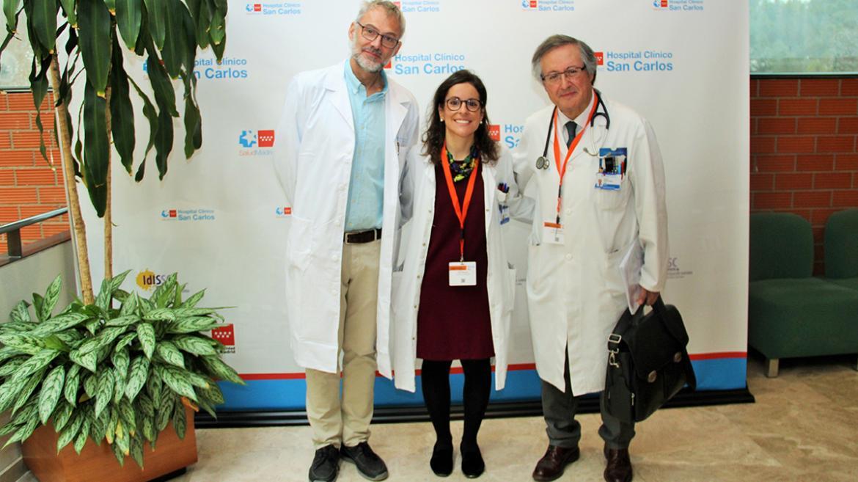 Coordinadores de la jornada de sarcoma en el Hospital Clínico San Carlos