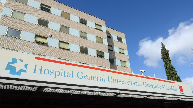 fachada principal hospital Gregorio Marañón