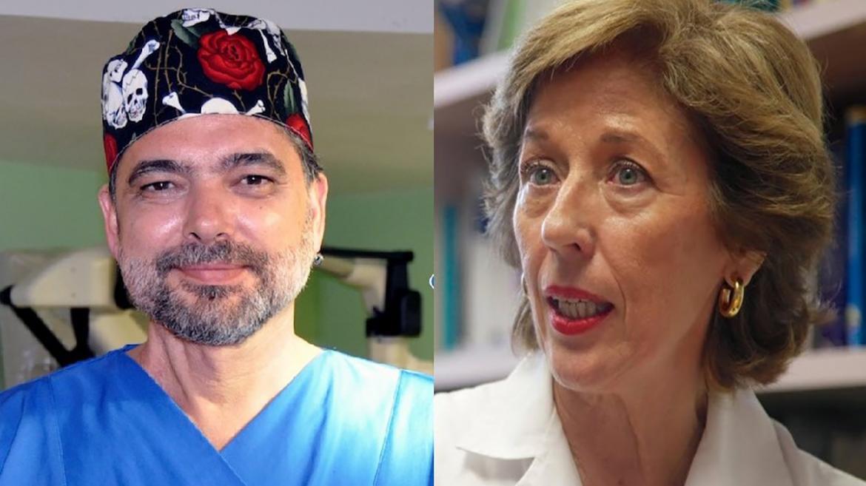 Juan Antonio Barcia y Blanca Reneses