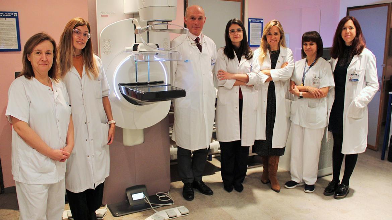 Radiólogos de imagen mamaria del Hospital Clínico