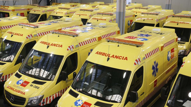 Flota de ambulancias del SUMMA112