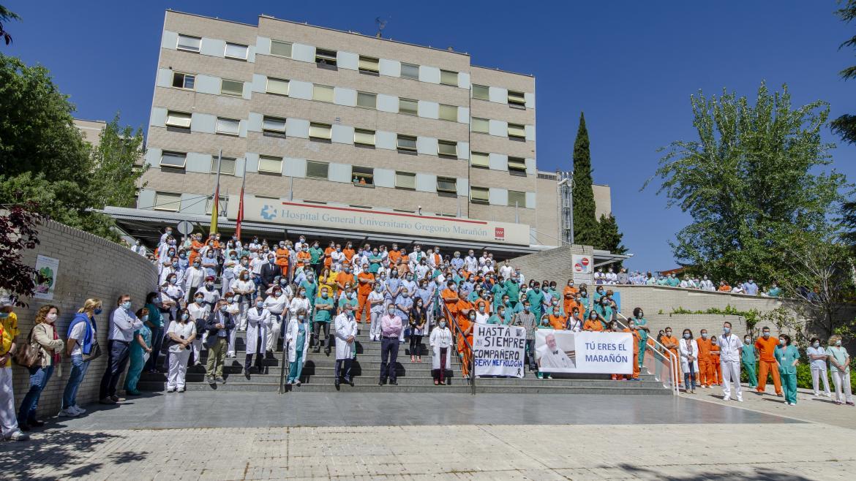 entrada hospital gregorio marañon