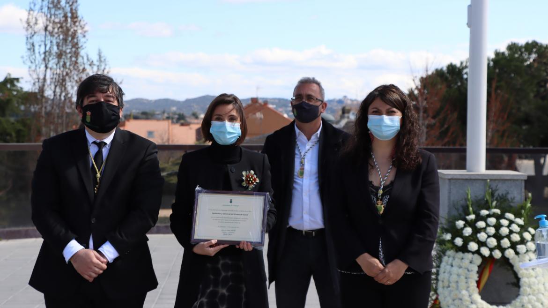 """Título título al Mérito de la Villa"""", por la labor del Centro de Salud Galapagar"""